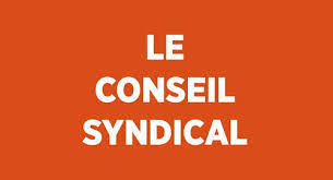 Le conseil syndical.